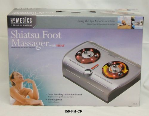 Homedics Shiatsu Foot Massager w/ Heat #FM CR